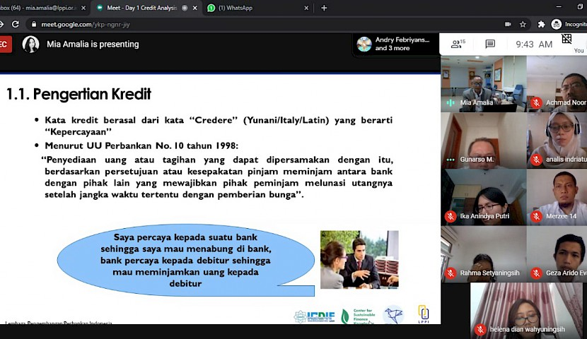 Online Learning Services - Credit Analysis Kementerian Keuangan Republik Indonesia